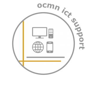 Logo button OCMN ICT Support